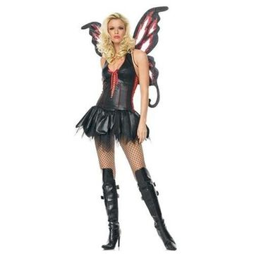 Gothic Dark Butterfly Sexy Holiday Party Halloween Costume