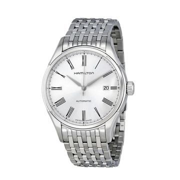 Hamilton Men's 'Valiant' Stainless Steel Automatic Watch (Silver)