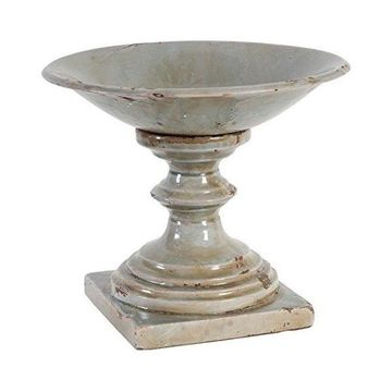 A&B Home 69120 Footed Centerpiece Bowl, 12