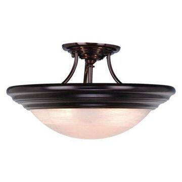 Vaxcel Lighting Tertial 3 Light Semi-Flush Indoor Ceiling Fixture