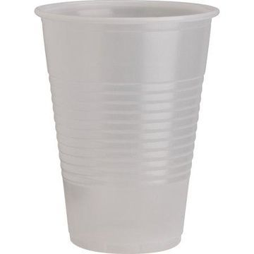 Genuine Joe, GJO10434, Translucent Plastic Beverage Cups, 2400 / Carton, Clear
