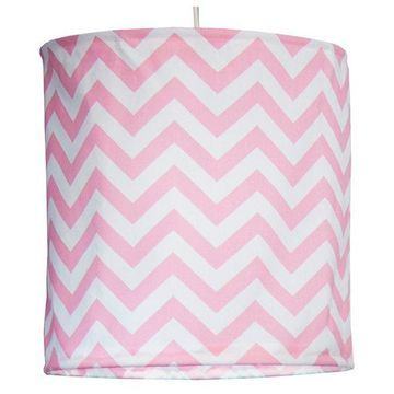 Swizzle Pink Hanging Drum Shade - Pink