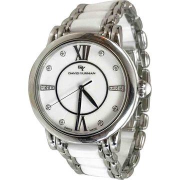 David Yurman White Steel Watches