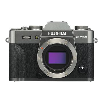 Fujifilm X-T30 Mirrorless Camera (Body Only, Charcoal Silver)