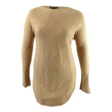 INC International Concepts Women's Shirttail Sweater
