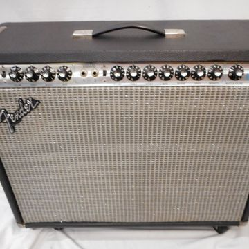 Vintage 1979 1979 Fender Twin Reverb Tube Guitar Combo Amp