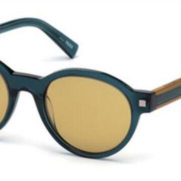 Ermenegildo Zegna EZ0100 90E Men's Sunglasses Blue Size 51