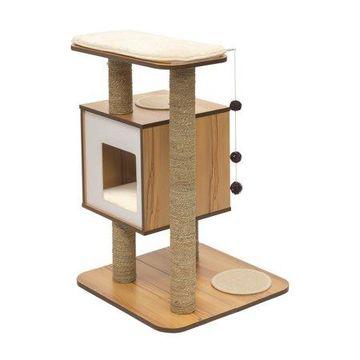 VESPER Cat Furniture, Base, Walnut
