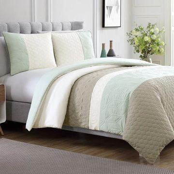 Amrapur Overseas Palisades 3-Piece Embellished Duvet Set