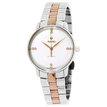 Rado Women's Coupole Silver Dial Watch - R22862722