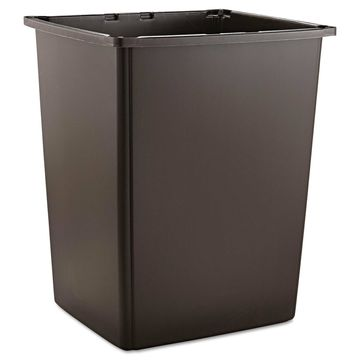 Rubbermaid Commercial Glutton Container Rectangular 56gal Brown 256BBRO