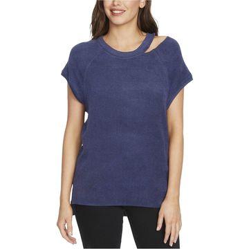 William Rast Womens Riley Basic T-Shirt