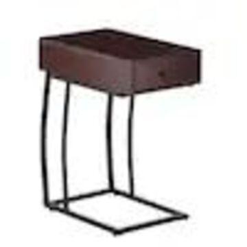 Boston Loft Furnishings DiWalnut Wood Veneer End Table