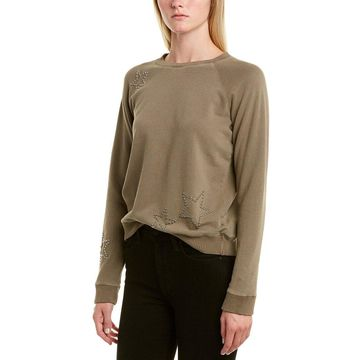 Monrow Womens Raglan Sweatshirt