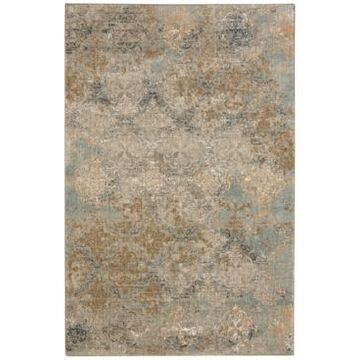 Karastan Touchstone Moy Willow Gray 8' x 11' Area Rug