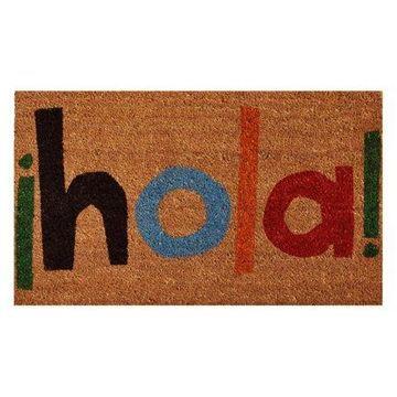 Home & More Hola Doormat
