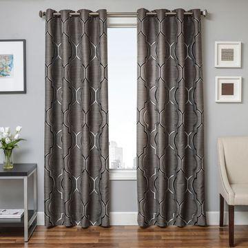 Softline Trenton Grommet Top Curtain Panel