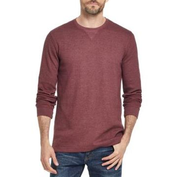 Weatherproof Vintage Men's Waffle Knit Long-Sleeve T-Shirt