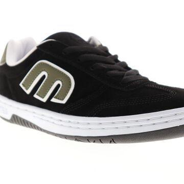 Etnies Locut Mens Black Suede Athletic Lace Up Skate Shoes