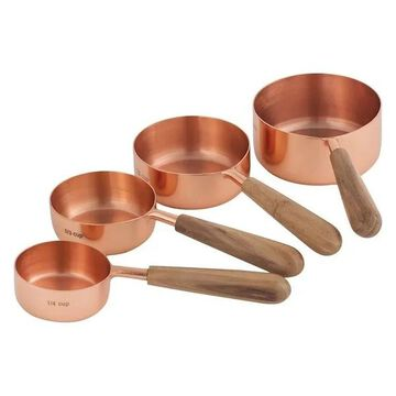 Pomeroy Coppersmith 4-Piece Set Measuring Cups, Copper