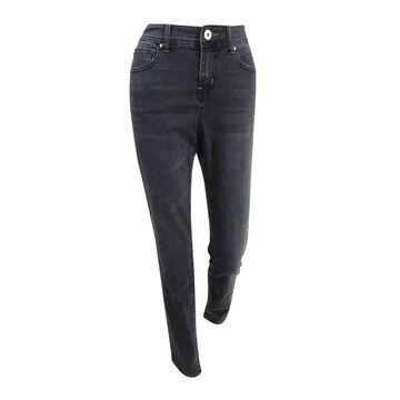INC International Concepts Women's Skinny Jeans - Grey