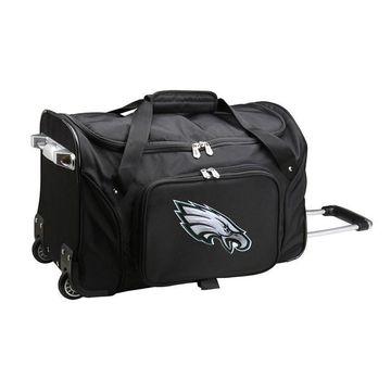 Denco Philadelphia Eagles 22-Inch Wheeled Duffel Bag