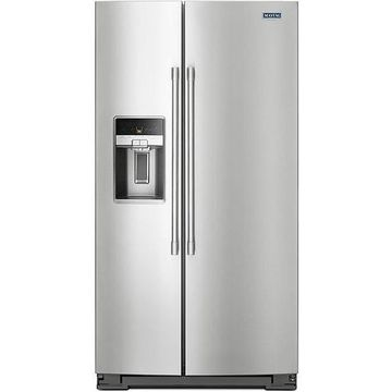 Maytag Stainless Steel Side-By-Side Refrigerator