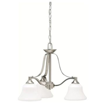 Kichler 1781 Langford Single-Tier Chandelier with 3 Lights