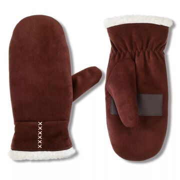 Women's isotoner Lined Recycled Microsuede Water Repellent Mitten