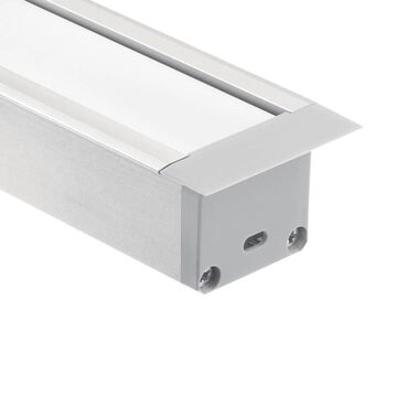 Kichler Cabinet Lighting Channel | 1TEC2DWRC8SIL