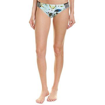 La Blanca Martini Shirred Bikini Bottom