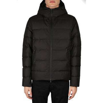 Fay Down Jacket In Padded Technical Fabric