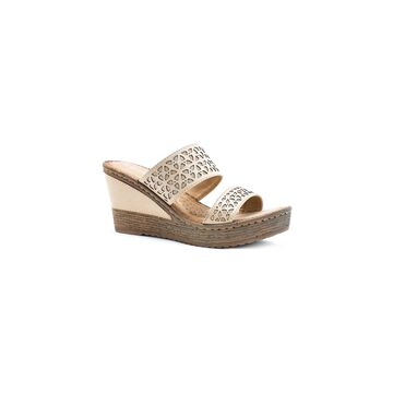 GC Shoes Womens Perry Wedge Sandals