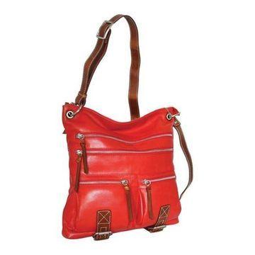 Nino Bossi Women's My My Honey Pie Crossbody Bag Tomato - US Women's One Size (Size None)