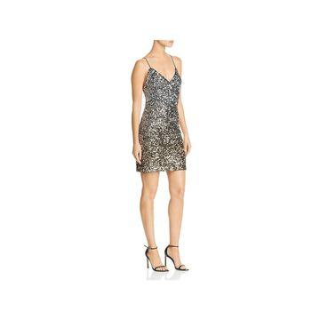 Bardot Womens Mini Dress Party Sequined