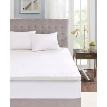 """Sleep Philosophy 3"""" Gel Memory Foam Twin Mattress Topper with Cooling Cover"""