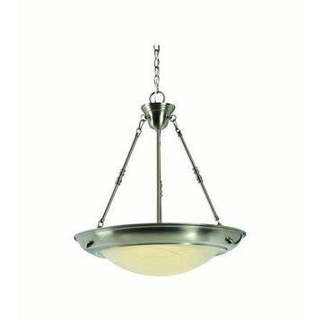 Design House 578542 Brookings LED Pendant, Satin Nickel