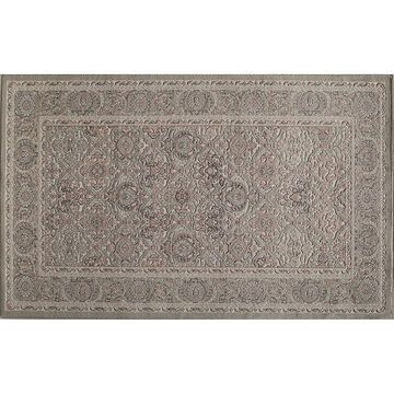 Rugs America Riviera Framed Floral III Rug, Green, 2X8 Ft