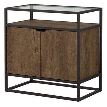 Bush Furniture Anthropology Coffee Bar with Storage