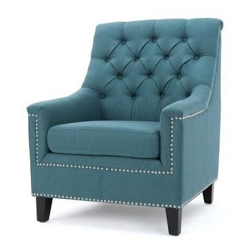 Jaclyn Tufted Club Chair - Christopher Knight Home