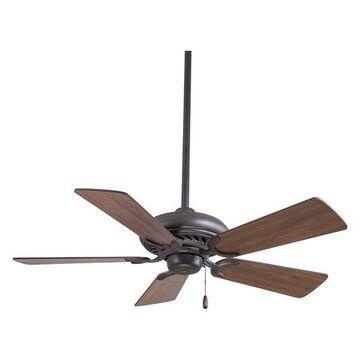 Supra 44 in. Indoor Ceiling Fan in Oil Rubbed Bronze
