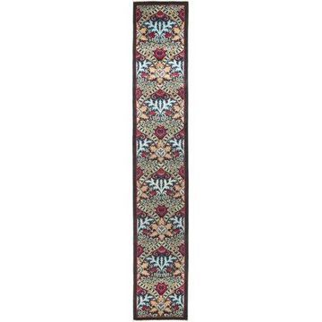 Solo Rugs One-of-a-kind Eclectic Hand-knotted Runner Rug 2' 6