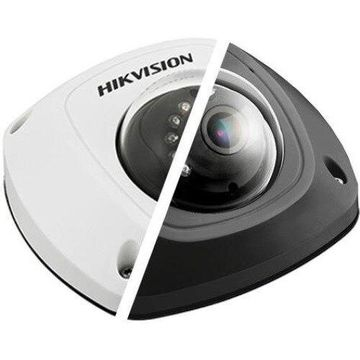 Hikvision Value Plus DS-2CD2542FWD-ISB 4 Megapixel Network Camera - Color, Monochrome - 32.81 ft Night Vision - H.264+, H.264, Motion JPEG - 2688 x 1520 - 2.80 mm - CMOS - Cable - Dome - Corner Mount, Pendant Mount