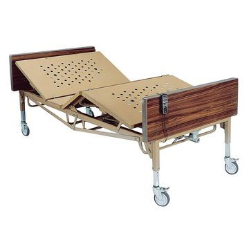 Drive Medical Full Electric Bariatric Hospital Bed with Mattress and T Rails