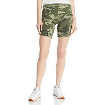 Monrow Camo Bike Shorts