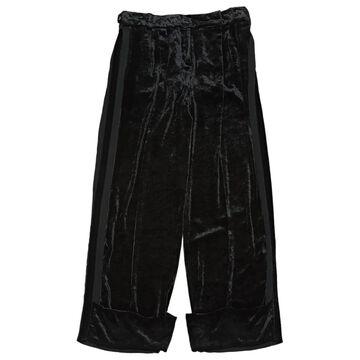 Nina Ricci Black Velvet Trousers