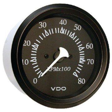 Seachoice 15251 Series Gauges 0-8,000 RPM 3-3/8