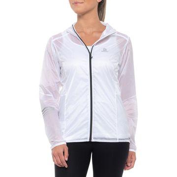 Salomon Lightning Wind Hooded Jacket (For Women)
