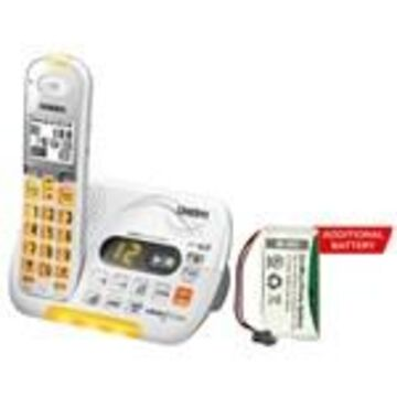 Uniden D3097 With additional Battery DECT 6.0 Amplified Cordless Phone