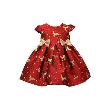 Bonnie Jean Girls Short Sleeve A-Line Dress - Baby